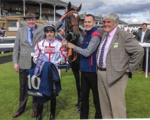 JUST IN TIME WINS PRESTIGIOUS MALLARD HANDICAP