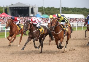 WHO DARES WINS STORMS TO VICTORY IN NORTHUMBERLAND PLATE